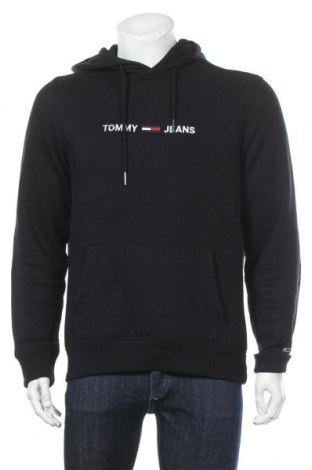 Ανδρικό φούτερ Tommy Hilfiger, Μέγεθος M, Χρώμα Μαύρο, 50% βαμβάκι, 50% πολυεστέρας, Τιμή 56,06€