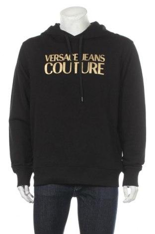 Ανδρικό φούτερ Versace Jeans, Μέγεθος XL, Χρώμα Μαύρο, Βαμβάκι, Τιμή 120,03€