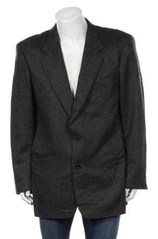 Мъжко сако Hugo Boss, Размер L, Цвят Сив, 100% кашмир, Цена 123,75лв.