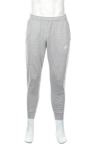 Мъжко спортно долнище Nike, Размер S, Цвят Сив, 80% памук, 20% полиестер, Цена 34,96лв.