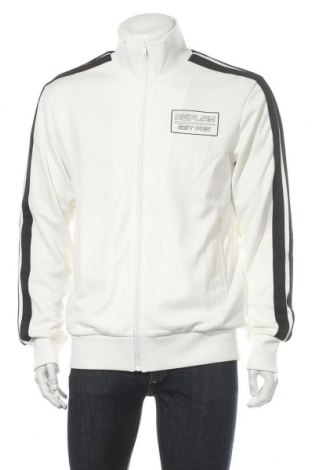 Ανδρική αθλητική ζακέτα Replay, Μέγεθος XL, Χρώμα Λευκό, Πολυεστέρας, Τιμή 45,21€