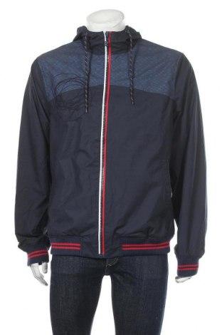 Ανδρικό μπουφάν Desigual, Μέγεθος XL, Χρώμα Μπλέ, 72% βαμβάκι, 28% πολυαμίδη, Τιμή 30,62€