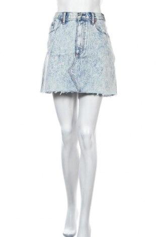 Φούστα Abercrombie & Fitch, Μέγεθος XL, Χρώμα Μπλέ, Βαμβάκι, Τιμή 47,67€