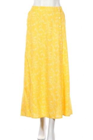 Φούστα Blend She, Μέγεθος L, Χρώμα Κίτρινο, Βισκόζη, Τιμή 26,68€