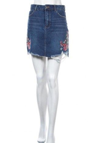 Φούστα Even&Odd, Μέγεθος S, Χρώμα Μπλέ, Βαμβάκι, Τιμή 14,69€