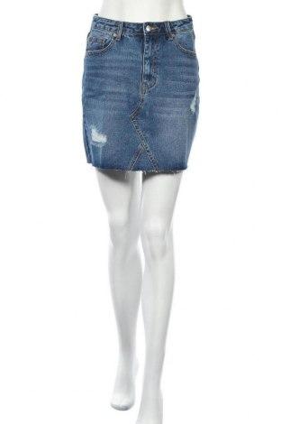 Φούστα Even&Odd, Μέγεθος S, Χρώμα Μπλέ, Βαμβάκι, Τιμή 18,95€