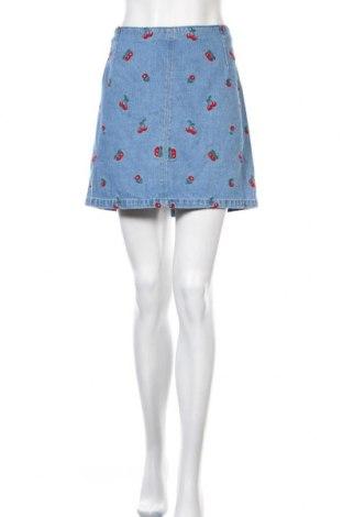 Φούστα H&M Divided, Μέγεθος XL, Χρώμα Μπλέ, Βαμβάκι, Τιμή 14,84€