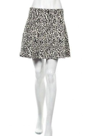 Φούστα H&M Divided, Μέγεθος M, Χρώμα Μαύρο, 55% βαμβάκι, 44% πολυεστέρας, 1% ελαστάνη, Τιμή 27,37€