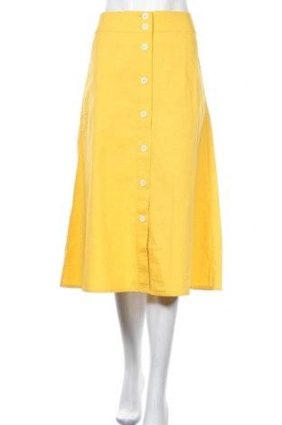 Φούστα More & More, Μέγεθος S, Χρώμα Κίτρινο, 98% βαμβάκι, 2% ελαστάνη, Τιμή 34,41€