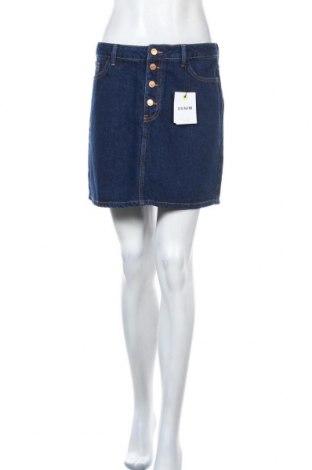 Φούστα New Look, Μέγεθος M, Χρώμα Μπλέ, Βαμβάκι, Τιμή 20,21€
