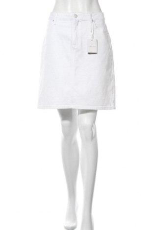 Φούστα Tommy Hilfiger, Μέγεθος L, Χρώμα Λευκό, 99% βαμβάκι, 1% ελαστάνη, Τιμή 41,71€