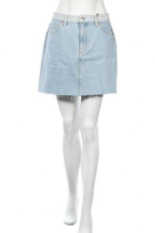 Φούστα Tommy Hilfiger, Μέγεθος L, Χρώμα Μπλέ, Βαμβάκι, Τιμή 48,72€