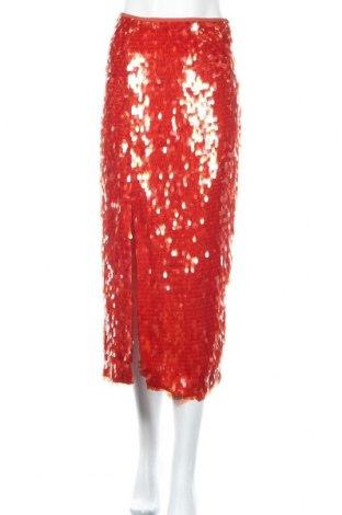 Φούστα Zara, Μέγεθος S, Χρώμα Κόκκινο, Πολυεστέρας, Τιμή 11,74€