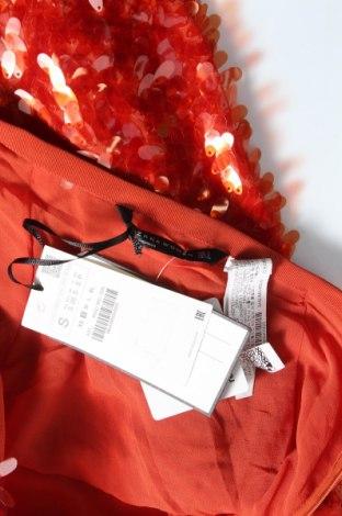 Φούστα Zara, Μέγεθος S, Χρώμα Κόκκινο, Πολυεστέρας, Τιμή 26,68€