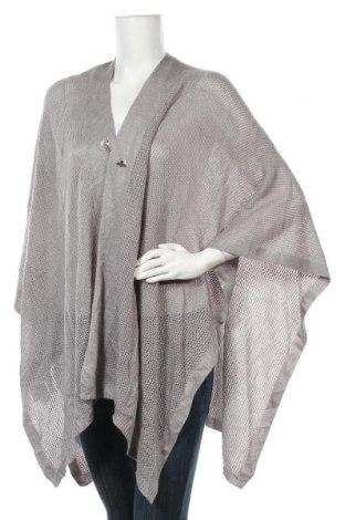 Пончо Calvin Klein, Размер M, Цвят Сив, Акрил, Цена 64,68лв.