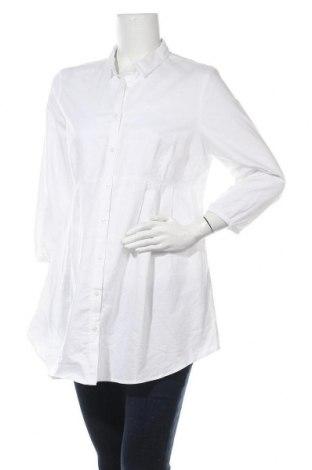 Риза за бременни, Размер XL, Цвят Бял, Цена 25,50лв.