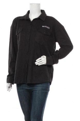Риза за бременни Missguided, Размер S, Цвят Черен, 52% полиестер, 48% памук, Цена 18,48лв.