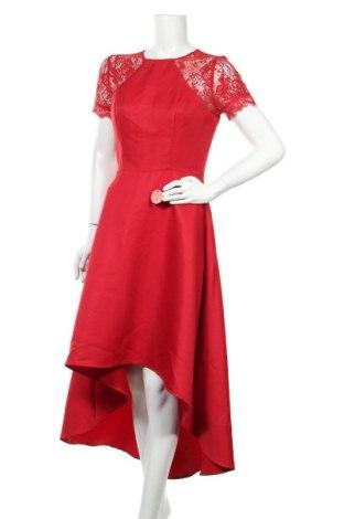 Šaty  Chi Chi, Velikost M, Barva Červená, Polyester, Cena  1100,00Kč