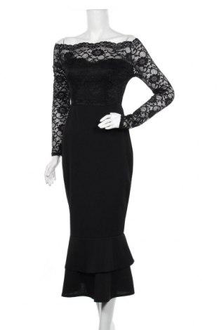 Φόρεμα Club L, Μέγεθος M, Χρώμα Μαύρο, 95% πολυεστέρας, 5% ελαστάνη, Τιμή 41,75€