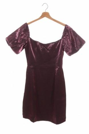 Šaty  Glamorous, Velikost S, Barva Růžová, 98% polyester, 2% elastan, Cena  265,00Kč