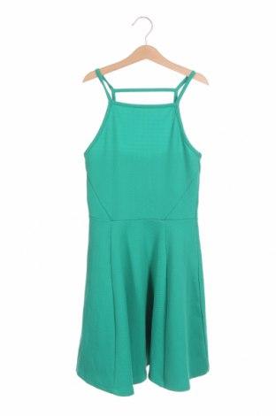 Φόρεμα H&M Divided, Μέγεθος XS, Χρώμα Πράσινο, 93% πολυεστέρας, 7% ελαστάνη, Τιμή 17,28€