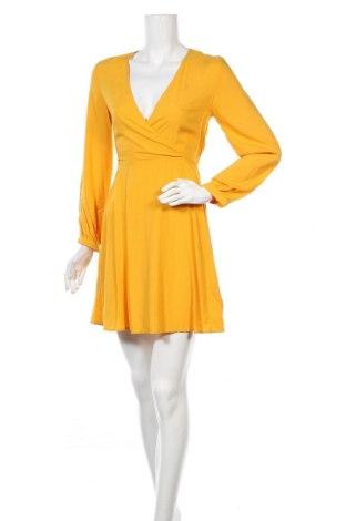 Φόρεμα H&M Divided, Μέγεθος XS, Χρώμα Κίτρινο, Βισκόζη, Τιμή 15,77€