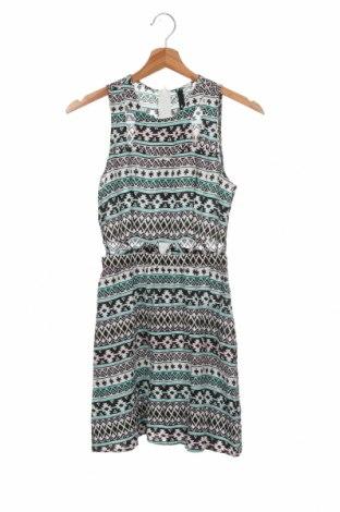 Φόρεμα H&M Divided, Μέγεθος XXS, Χρώμα Πολύχρωμο, Βισκόζη, Τιμή 5,72€