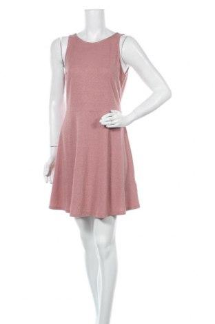 Φόρεμα H&M Divided, Μέγεθος L, Χρώμα Ρόζ , 56% βισκόζη, 26% πολυεστέρας, 13% μεταλλικά νήματα, Τιμή 16,89€