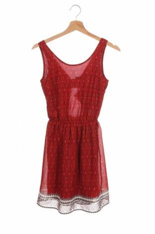 Φόρεμα H&M Divided, Μέγεθος XXS, Χρώμα Κόκκινο, Πολυεστέρας, Τιμή 13,46€