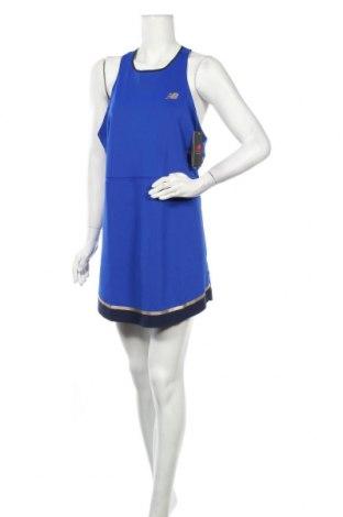 Φόρεμα New Balance, Μέγεθος XL, Χρώμα Μπλέ, 87% πολυεστέρας, 13% ελαστάνη, Τιμή 26,97€