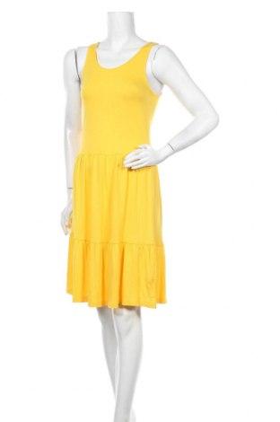 Рокля ONLY, Размер S, Цвят Жълт, Вискоза, Цена 16,99лв.