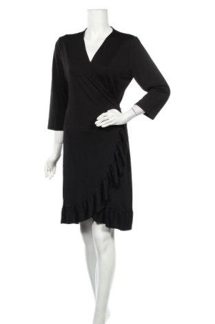 Φόρεμα Pieces, Μέγεθος XL, Χρώμα Μαύρο, 95% πολυεστέρας, 5% ελαστάνη, Τιμή 20,88€