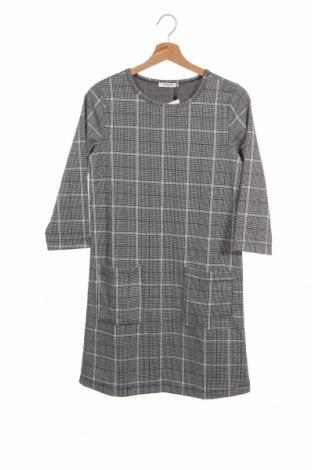 Φόρεμα Pieces, Μέγεθος XS, Χρώμα Γκρί, 98% πολυεστέρας, 2% ελαστάνη, Τιμή 20,10€