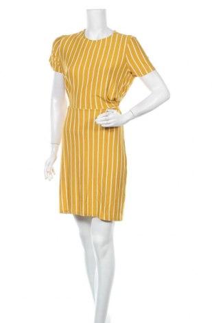 Φόρεμα Pieces, Μέγεθος S, Χρώμα Κίτρινο, 95% βισκόζη, 5% ελαστάνη, Τιμή 17,78€