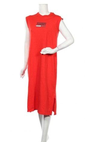 Φόρεμα Tommy Hilfiger, Μέγεθος L, Χρώμα Κόκκινο, Βαμβάκι, Τιμή 56,06€
