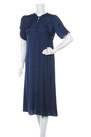 Φόρεμα Topshop, Μέγεθος L, Χρώμα Μπλέ, Πολυεστέρας, Τιμή 46,01€