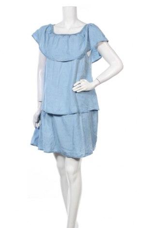 Φόρεμα Vila, Μέγεθος XL, Χρώμα Μπλέ, 100% lyocell, Τιμή 30,62€