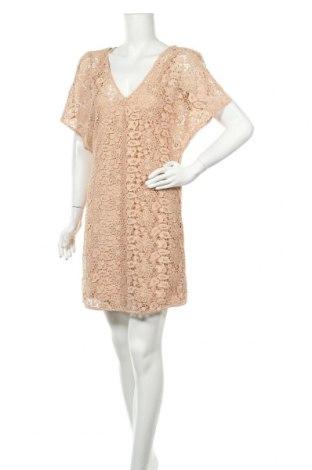 Рокля Zara, Размер M, Цвят Розов, Цена 31,50лв.