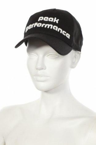 Шапка Peak Performance, Цвят Черен, Памук, Цена 18,59лв.