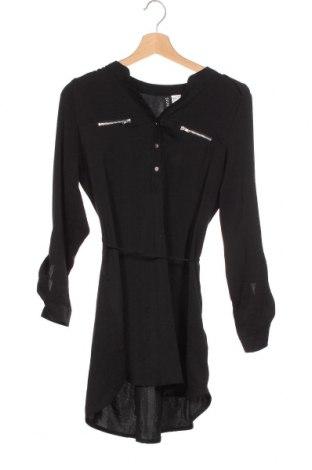 Τουνίκ H&M Divided, Μέγεθος XS, Χρώμα Μαύρο, Πολυεστέρας, Τιμή 13,64€