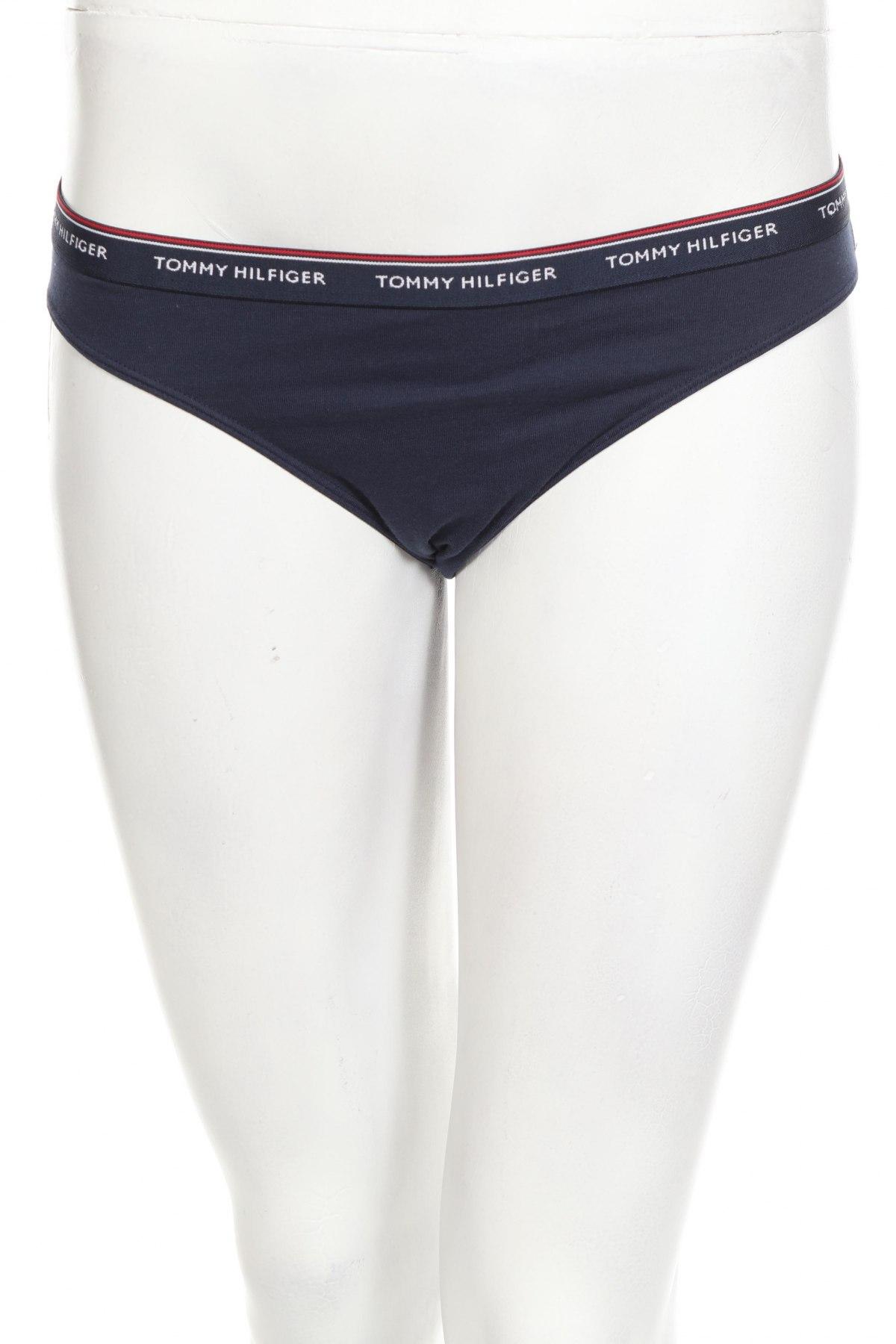 Μπικίνι Tommy Hilfiger, Μέγεθος M, Χρώμα Μπλέ, 90% βαμβάκι, 10% ελαστάνη, Τιμή 18,95€