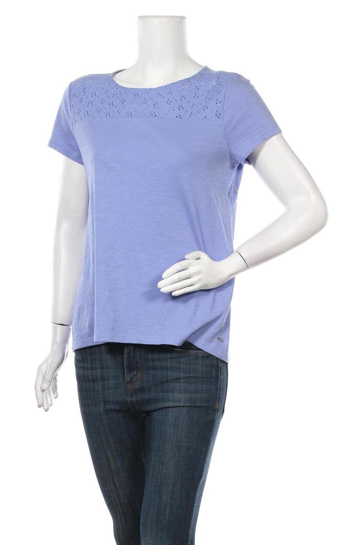 Γυναικεία μπλούζα Tom Tailor, Μέγεθος M, Χρώμα Βιολετί, Βαμβάκι, Τιμή 18,95€