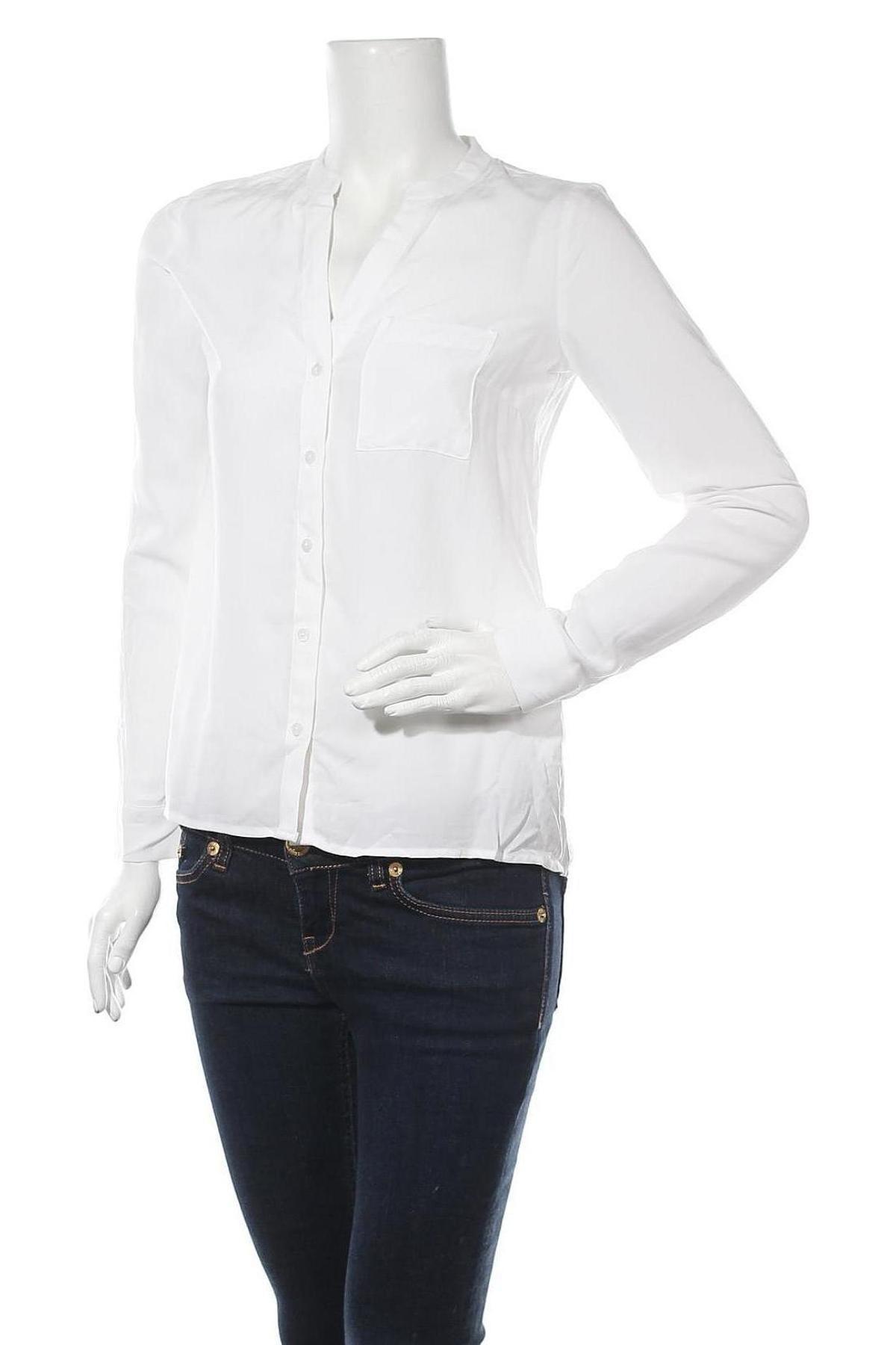 Дамска риза, Размер S, Цвят Бял, Цена 10,44лв.