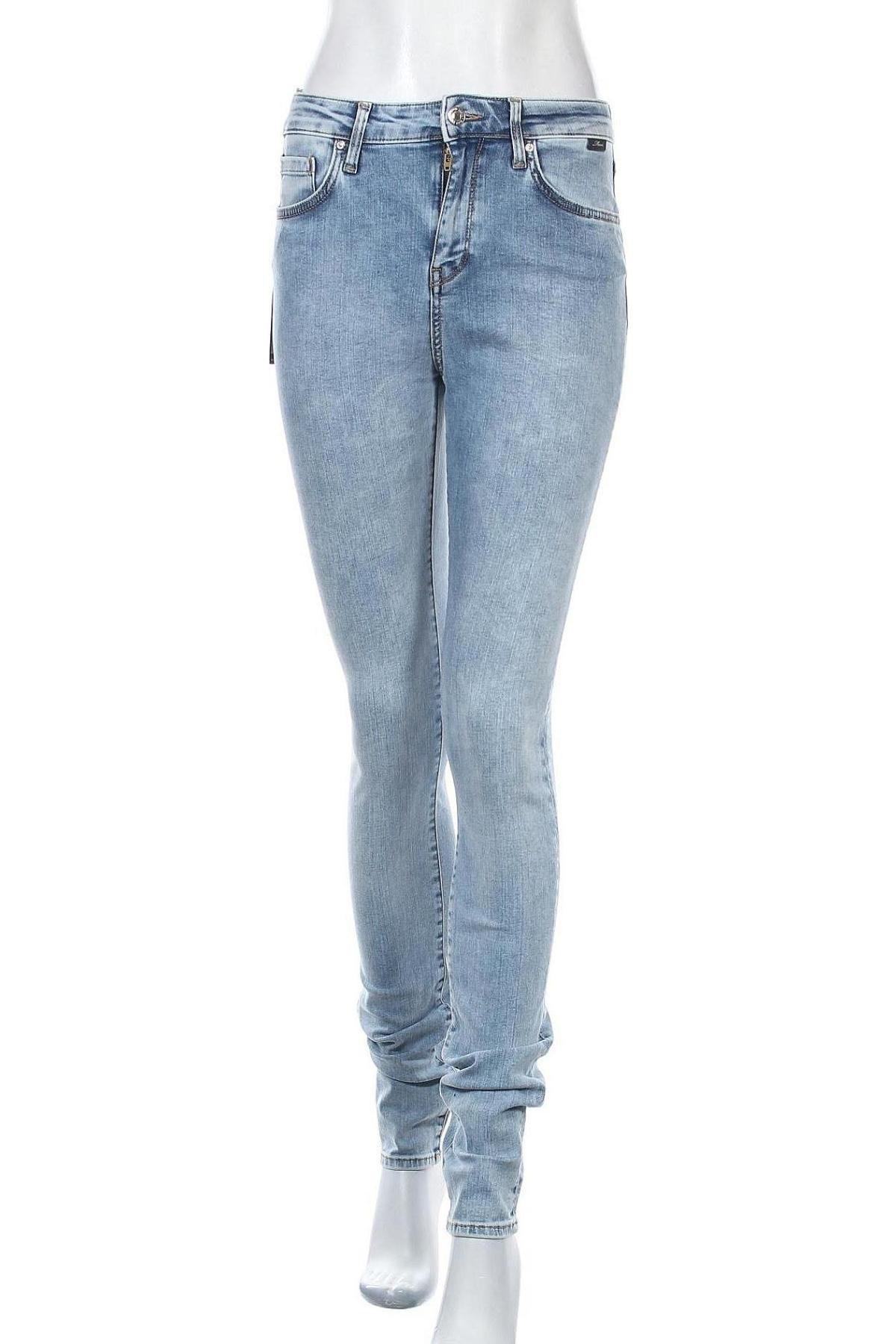 Дамски дънки Mavi, Размер S, Цвят Син, 84% памук, 9% полиестер, 5% вискоза, 2% еластан, Цена 25,90лв.