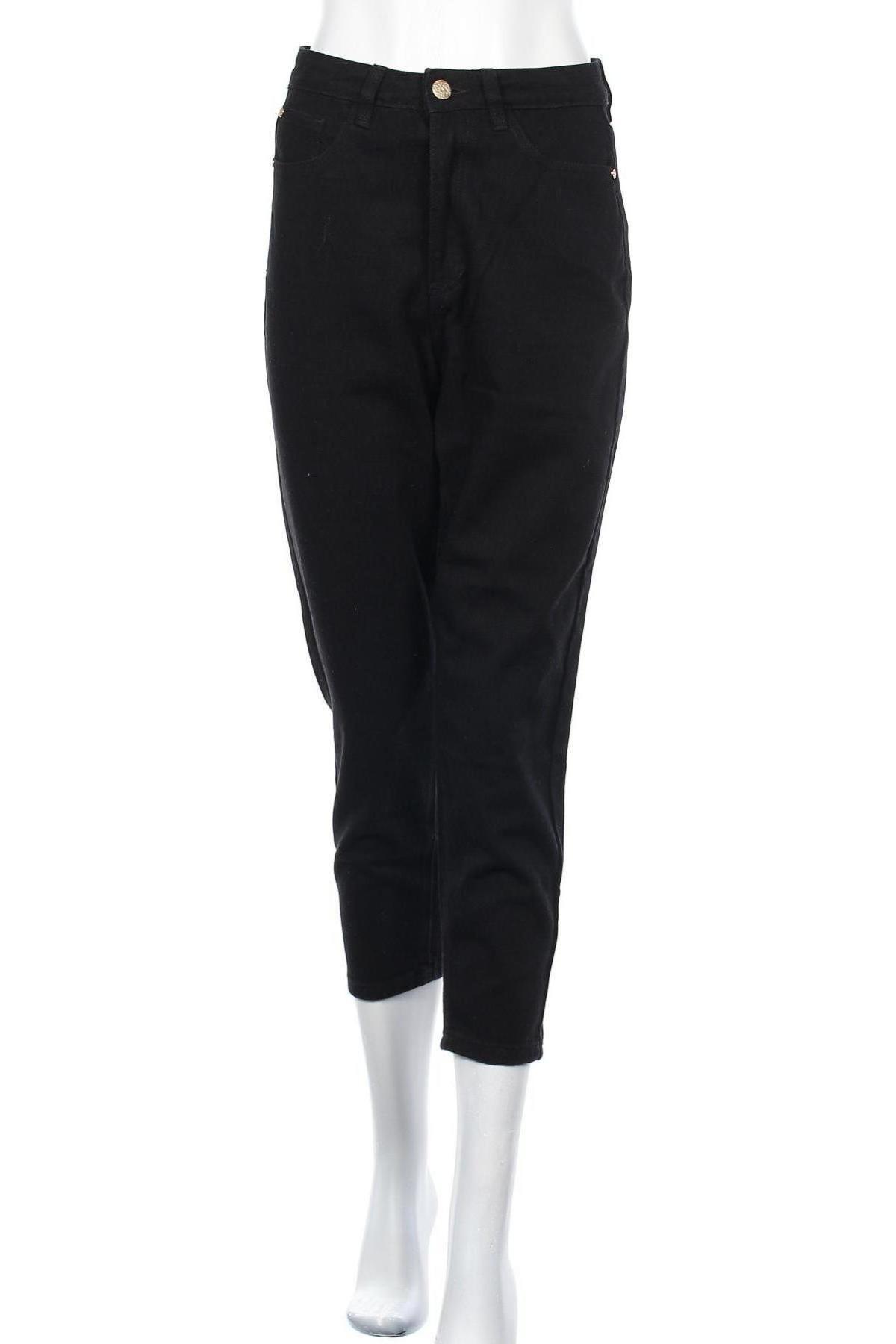 Дамски дънки Missguided, Размер S, Цвят Черен, 70% памук, 30% полиестер, Цена 17,00лв.