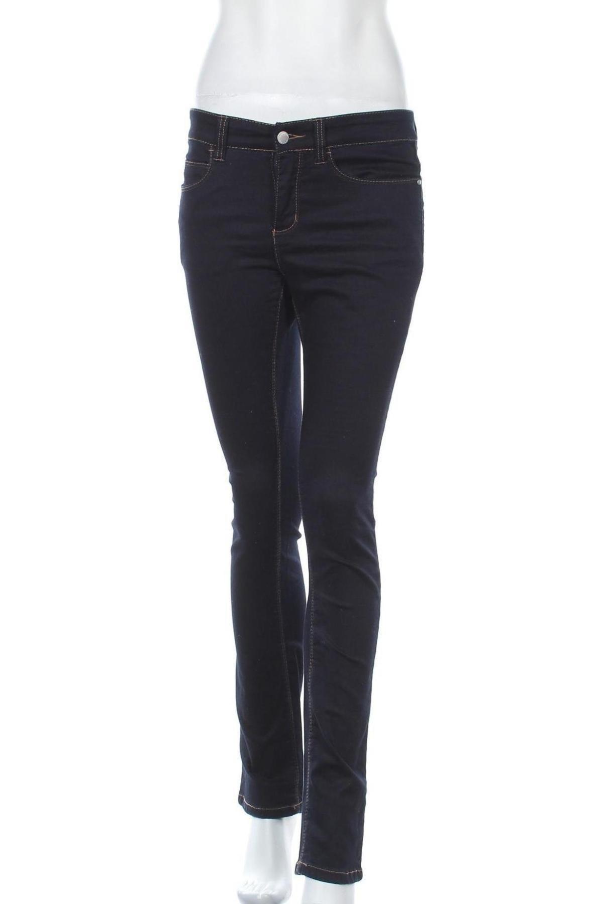 Дамски дънки Wonder Jeans, Размер S, Цвят Син, 65% памук, 30% полиестер, 5% еластан, Цена 44,25лв.