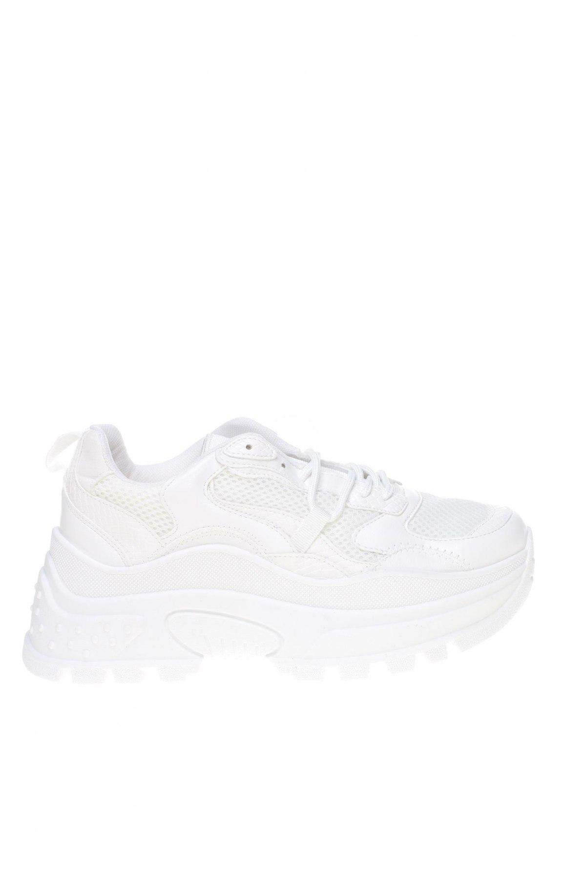 Дамски обувки Topshop, Размер 38, Цвят Бял, Еко кожа, текстил, Цена 53,40лв.