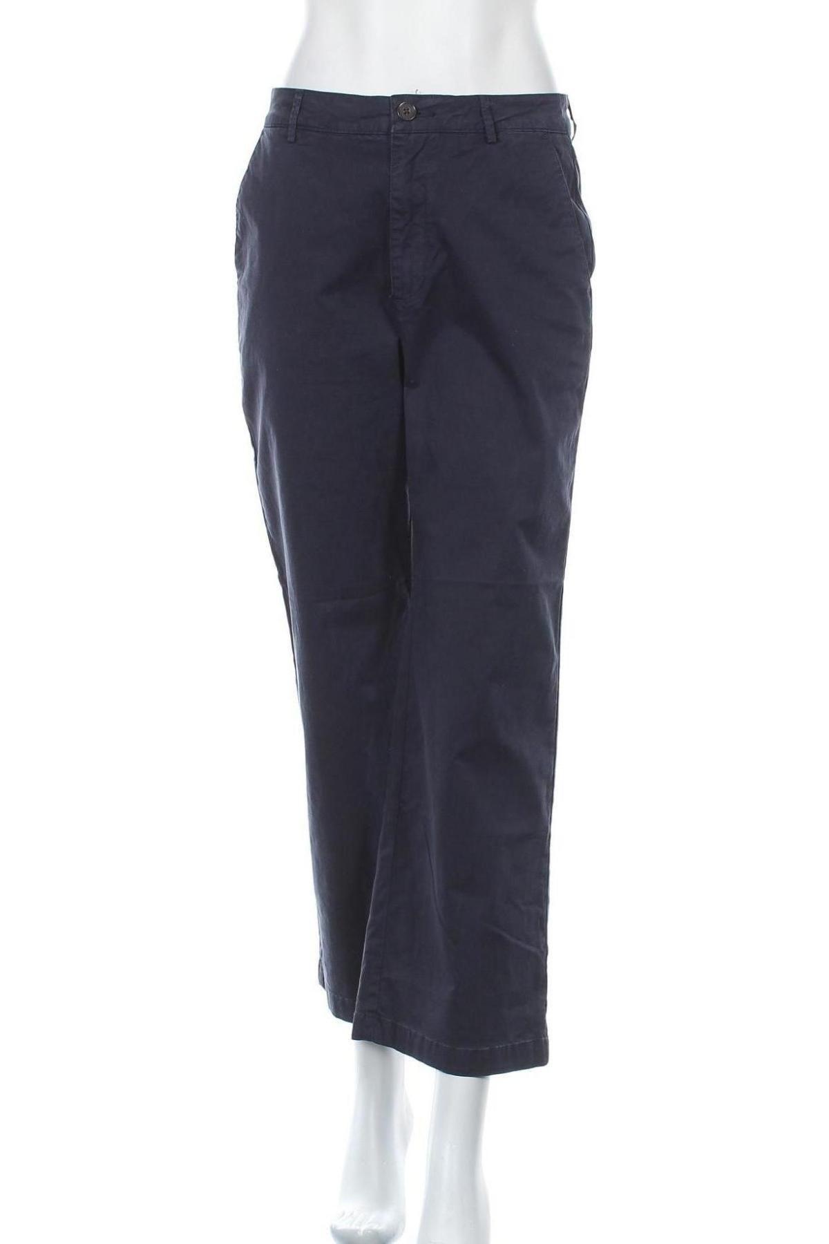 Дамски панталон Joseph Janard, Размер S, Цвят Син, 97% памук, 3% еластан, Цена 14,45лв.