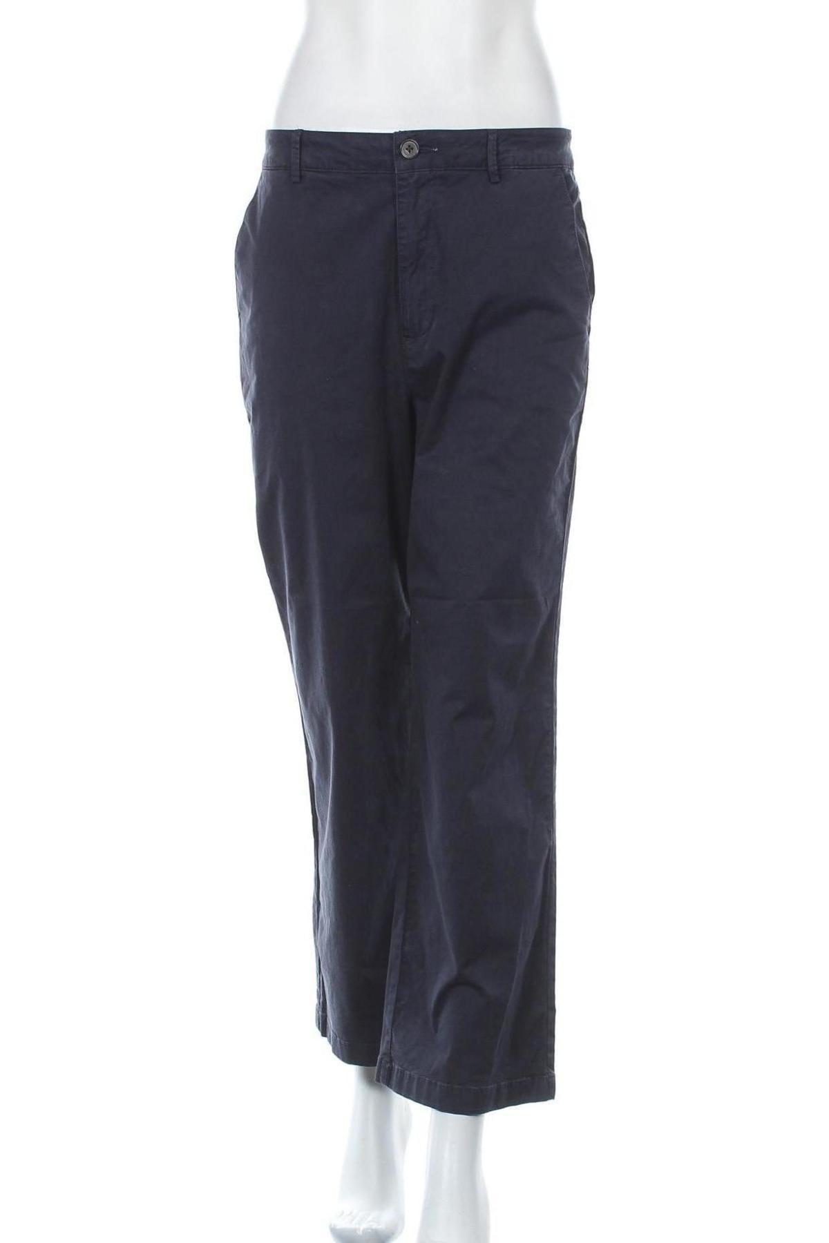 Дамски панталон Joseph Janard, Размер M, Цвят Син, 97% памук, 3% еластан, Цена 14,45лв.