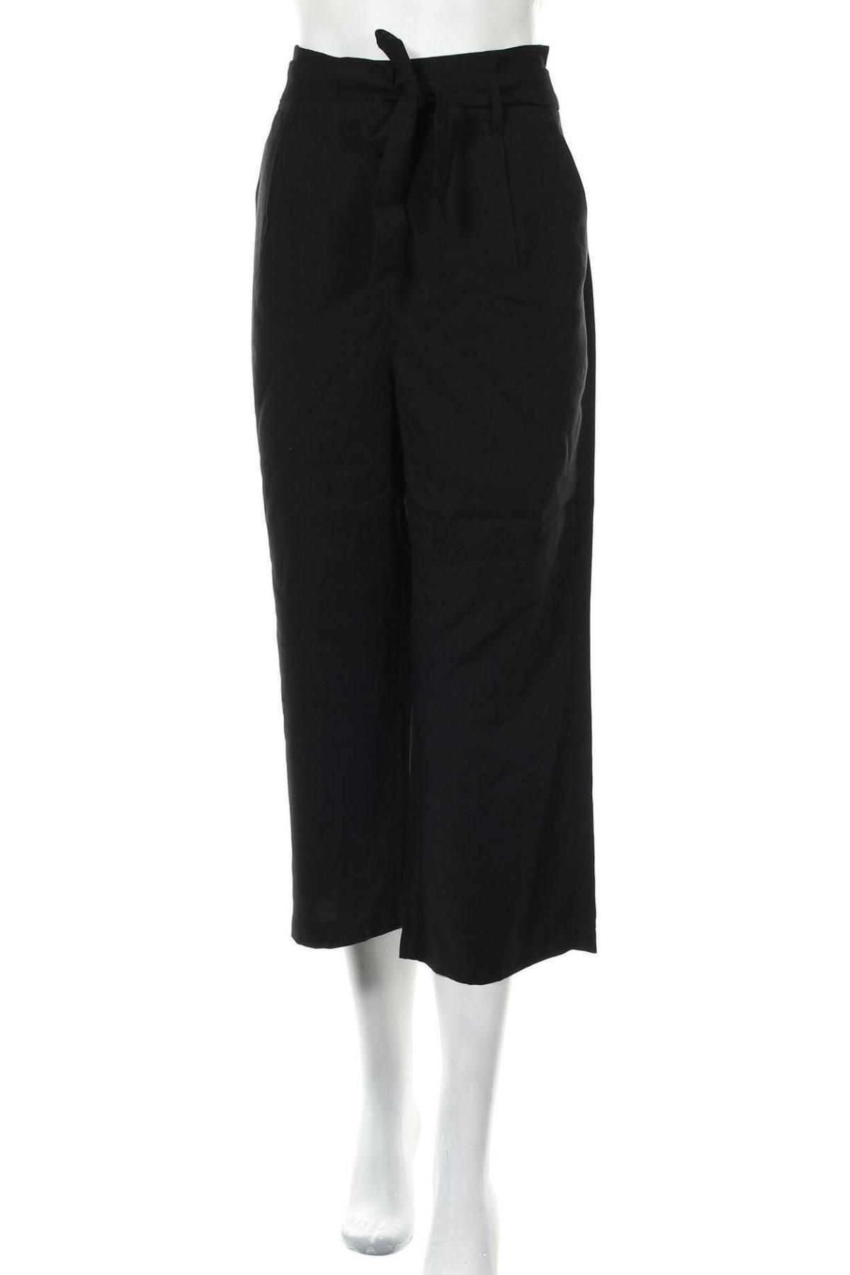 Дамски панталон Vero Moda, Размер M, Цвят Черен, 93% вискоза, 7% полиестер, Цена 19,47лв.